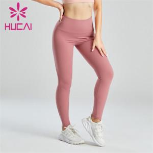 Gym Pink Sexy Hip Lift Slim Leggings Supplier