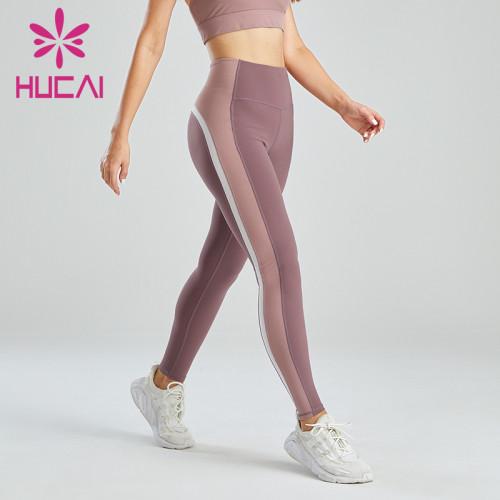 Customized Three-color High-waisted Abdomen Leggings