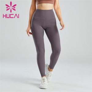 Gray Slim Hip Lifting Leggings Wholesale Supplier