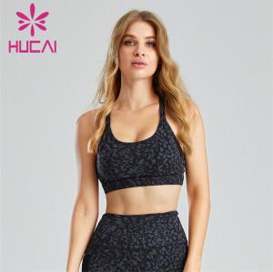 Fashion Digital Printing Open Back Sports Bra Wholesale Supplier