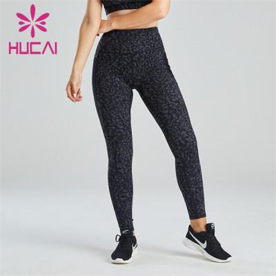Fashion Digital Printing Fitness Leggings Customization