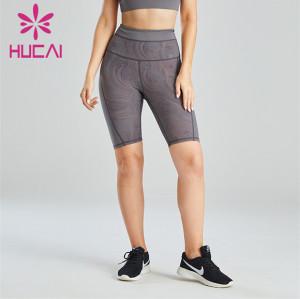 Fashion Printed Cycling Pants Custom Wholesale