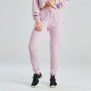 Light Pink Comfortable Ladies Sweatpants Wholesale