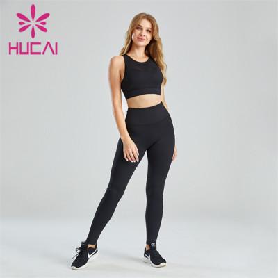 Ladies Fitness Running Yoga Sports Suit Wholesale
