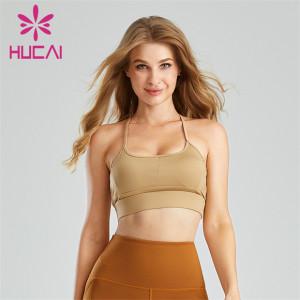 Sexy Strapless Back Sports Bra Custom Supplier