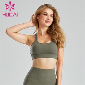 Ladies Fitness Running Yoga Sports Bra Custom