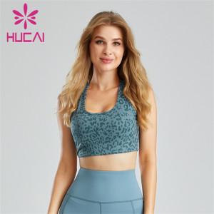 Gym Fashion Printing Custom Made Sports Bras