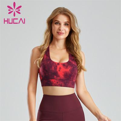 Sexy Hot Fitness Sports Bra Customization