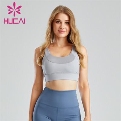 Fashion Honeycomb Mesh Sports Bra Customization