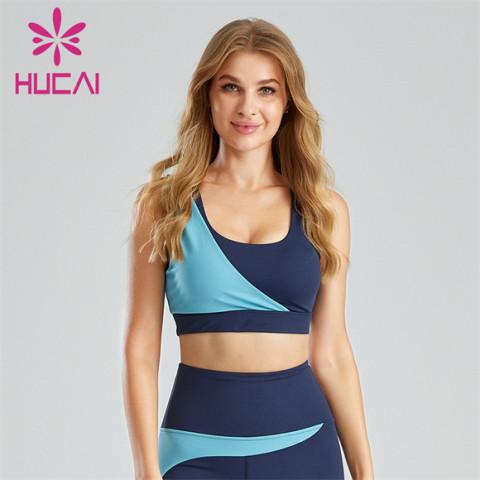 Innovative Contrast Color Design Sports Bra Customization