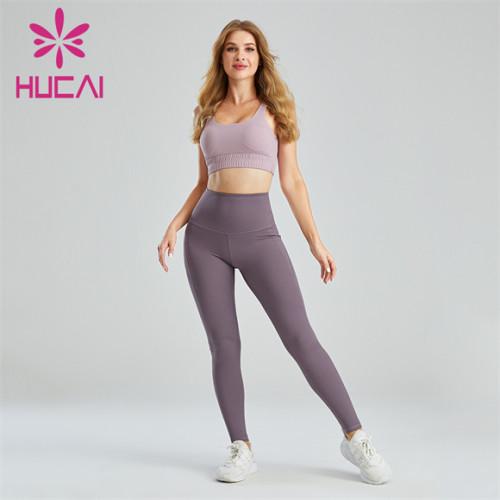 Women's Shockproof Sports Bra And Leggings Suit Customization