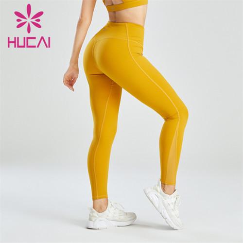 Orange Yellow Fashion Ladies Slim Leggings Wholesale
