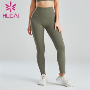 Ladies High waist Sports Running Leggings Wholesale