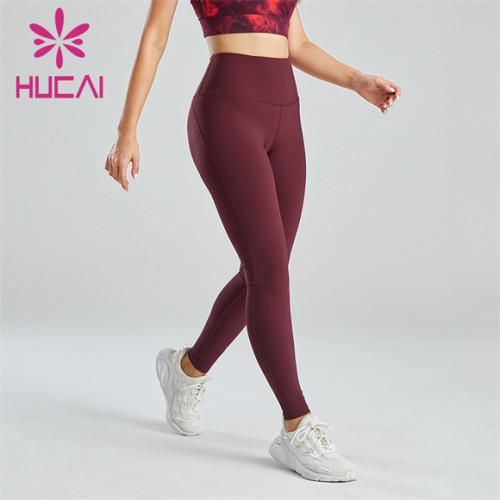 Ladies Crimson Fitness Yoga Leggings Wholesale