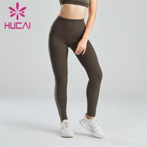 Women's Two-tone Fitness Yoga Leggings Wholesale