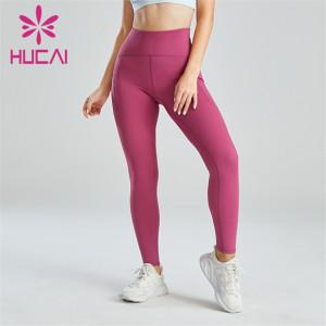Ladies Cute Pink Slim Fit Leggings Wholesale