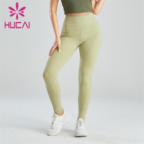 Gym Light Green Yoga Running Leggings Wholesale