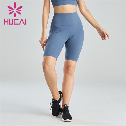 Ladies Light Blue Cycling Shorts Wholesale