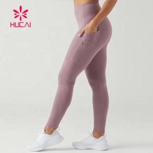Butt Lift Leggings Wholesale Custom Women Yoga Pants With Pockets