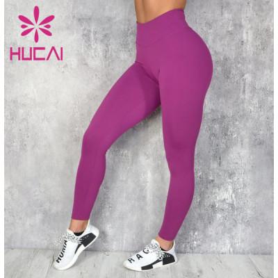 Women's Yoga Leggings Factory Four-Way Stretch Fabric
