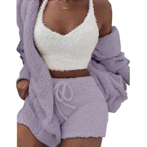 بيجامات منامة للسيدات ملابس نوم للكبار في الصيف أطقم بيجامات متعددة القطع للعائلة