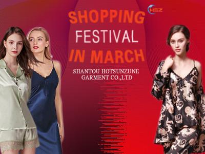 Pajamas March Purchasing Festival