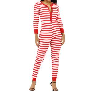 Onesies Long Sleeve Pants Skin Onesies for Adult Female Wholesale Bodysuit Romper New Arrival Fashion Hot Sale Slim
