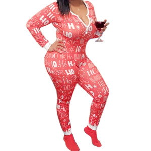 Женские комбинезоны, комбинезоны с длинным рукавом и брюки, модная женская одежда, горячая распродажа, принт