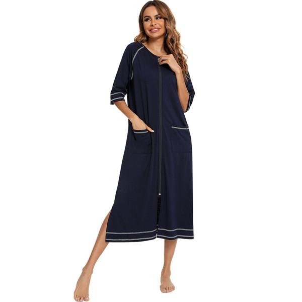 Luxury Maternity Nightwear,Home Wear Comfort,Sleepwear Nightgown for Women,Factory Casual Slim Nightdress