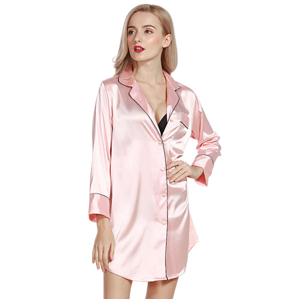 Lingerie and Nightwear,Nightshirts Long Sleeve at Home,Wholesale Nightgown for Women Sleepwear