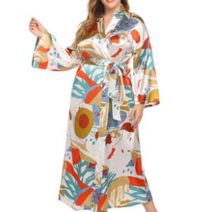 Заводские пижамы для женщин, оптовая продажа, халаты с длинным рукавом для женщин, повседневная домашняя одежда