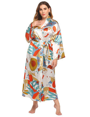 بيجامة مصنع للسيدات بالجملة رداء طويل الأكمام للنساء ملابس منزلية غير رسمية