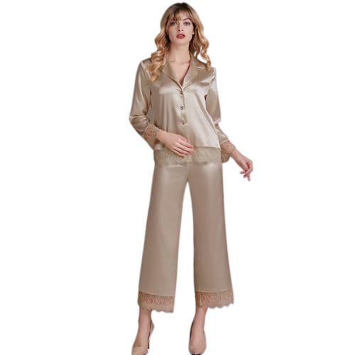 الجملة مصنع مخصص قطعتين مجموعات منامة للنساء ملابس النوم الإناث البالغات
