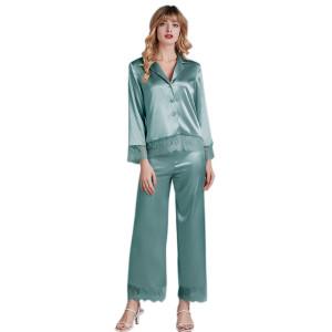 Оптовая торговля на заводе индивидуальные комплекты из двух частей пижамы для женщин для взрослых женщин пижамы