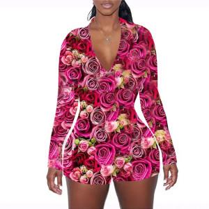 Комбинезоны и комбинезоны, Женская обтягивающая одежда для сна, Длинный женский комбинезон, Домашняя одежда оптом для женщин