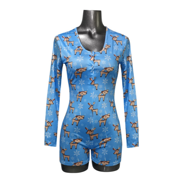 Цельная пижама для взрослых, красивая женская домашняя одежда с принтом, оптовая заводская цена, женские комбинезоны, ночные рубашки