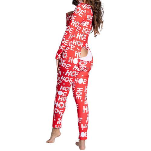 بدلة طويلة الأكمام ، تصميم مطبوع حسب الطلب وموك منخفض ، بذلة ملابس نوم نسائية ، ملابس منزلية نايتي للبيع بالجملة
