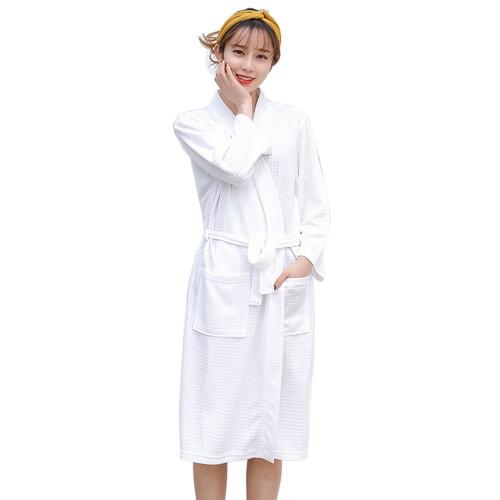 روب حمام للنساء ، مقاس مخصص منخفض أردية موك للنساء ، وصل حديثًا ملابس نوم غير رسمية جميلة ، رداء حمام نسائي طويل للبيع بالجملة