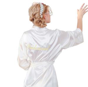 أردية نسائية بمقاسات كبيرة ، موك منخفض وشحن سريع ، أردية العروس جميلة وأزياء ، ملابس نوم غير رسمية بسعر المصنع