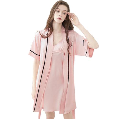 الملابس الداخلية ملابس نوم ، ملابس النوم باس النوم مجموعات الحرير ، ملابس النساء ثوب النوم بالجملة حجم مخصص