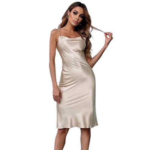ثوب النوم تنورة الحمالة مريحة وأنيقة ملابس نوم نايتي للنساء ، بالجملة تصميم Nightskirt للإناث