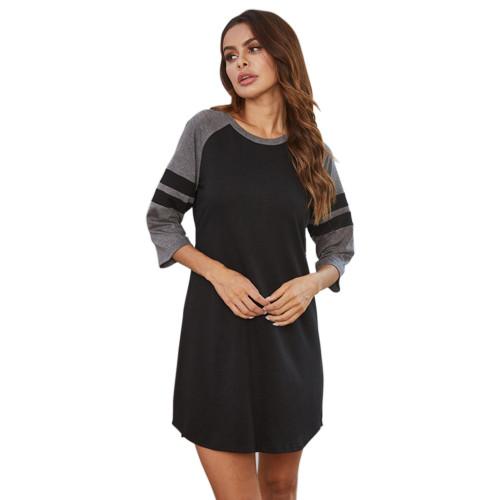 الملابس الداخلية النسائية وملابس النوم ، ثوب النوم بطول الركبة للنساء ، سعر المصنع حجم مخصص لباس النوم للنساء