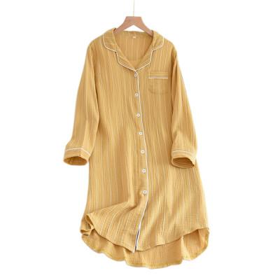 بالإضافة إلى ملابس النوم الداخلية ، تصميم نقي اللون لملابس المنزل ، ملابس داخلية قطنية للمصنع بالجملة