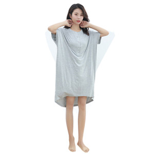 Ladies Nightwear Nighty,Nightgown for Women Cotton Comfort,Factory Price Nightskirt Loose
