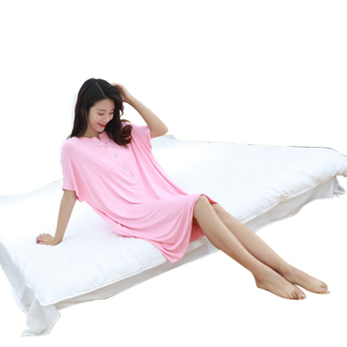 Ladies Nightwear Nighty ، Nightgown for Women Cotton Comfort ، سعر المصنع Nightskirt loose
