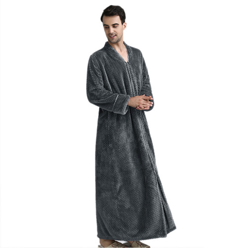 أردية قطنية للنساء ، أرواب حمام نسائية مريحة من الفلانيل ، بيجاما نوم فضفاضة بالجملة
