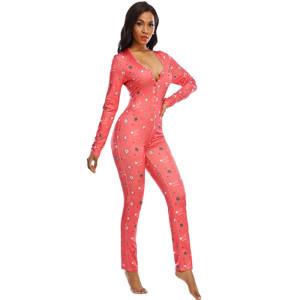 Роскошное женское ночное белье, Женские пижамы Комбинезоны Slim Casual, Женские пижамы оптом нестандартного размера