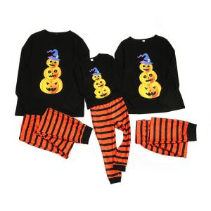 Пижамы больших размеров на Хэллоуин, Семейные комплекты повседневной и свободной одежды для сна, Комфортная домашняя одежда для папы, мамы и детей оптом