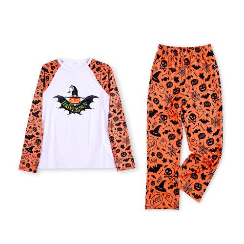منامة الهالوين المتطابقة ، بدلة عائلية للأولاد والبنات يرتدون طباعة لطيفة ، ملابس نوم بسعر المصنع للنساء والرجال