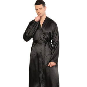 مجموعات ملابس النوم بالجملة ، قميص نوم كارديجان فضفاض بأكمام كبيرة ، رداء حمام ناعم للربيع والخريف بالجملة
